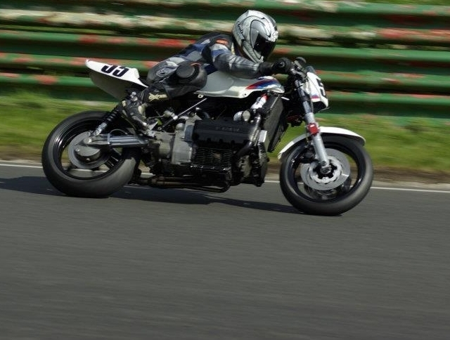 First race on the k100 Mallory 2012